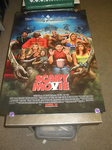 Scary Movie 5 Orig U S One Sheet Movie Poster Ashley Tisdale Ds At Amazon S Entertainment Collectibles Store