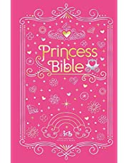 ICB, Princess Bible, Pink, Hardcover, with Coloring Sticker Book: International Children's Bible