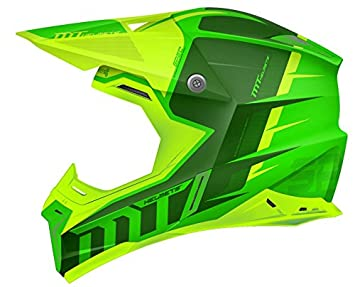 MT - Casco Cross SYNCHRONY SPEC GLOSS Verde Flúor (XL)
