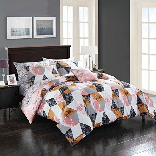 Pop Shop Zoe Bed in a Bag, Full, Multicolor