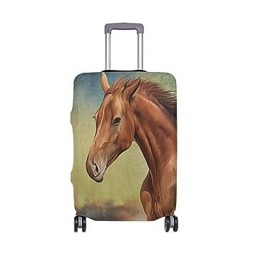 Horse Vintage Travelers Choice Travel Equipaje con Ruedas giratorias Maleta de Equipaje de 20 Pulgadas: Amazon.es: Equipaje