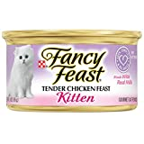 #5: Purina Fancy Feast Tender Chicken Feast Wet Kitten Food - Twenty-Four (24) 3 oz. Cans