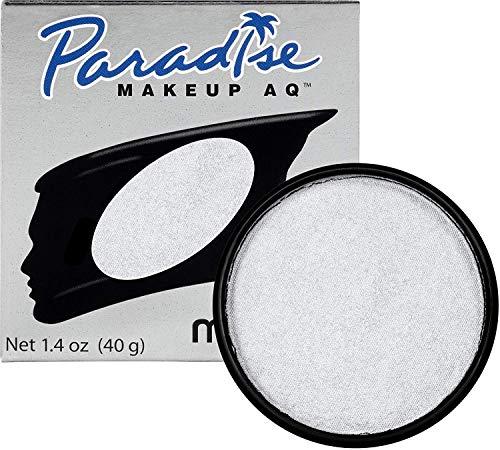Mehron Makeup Paradise AQ (Brillant Silver Argente)
