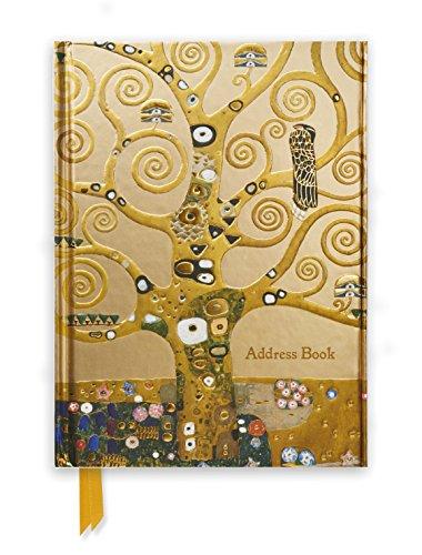 Klimt: Tree of Life (Address Book) (Flame Tree Notebooks)