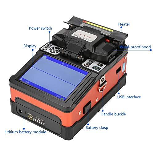 bcc231247172d fosa A-81S Fiber Fusion Splicer Typical Splicing Duration 9 Seconds Heating  Duration Fiber Optic Welding Splicing Machine Fusion Splicer Optical Fiber  ...