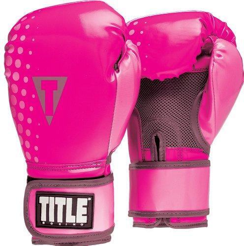 TITLE Aerovent Adapt Fitness Gloves - Pink/Dark Grey - XL