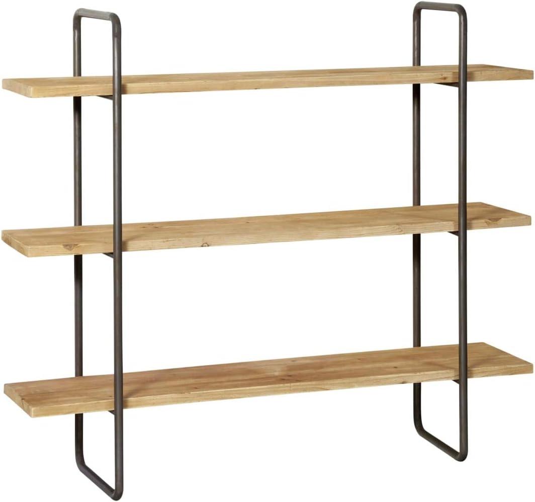 Miavilla Wandregal Ajan Industrial Loft Style Holz Metall