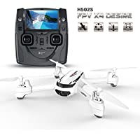 Hubsan X4 H502S 5.8G FPV with 720P Camera GPS RC Quadcopter (with two Batteries)