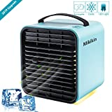 Mini Negative Ion Air Conditioning Fan Personal Space Air Cooler Humidifier Purifier 3 in 1...