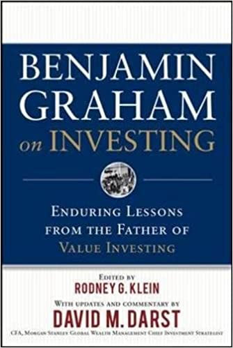 image for Benjamin Graham on Investing: Enduring Lessons from the Father of Value Investing