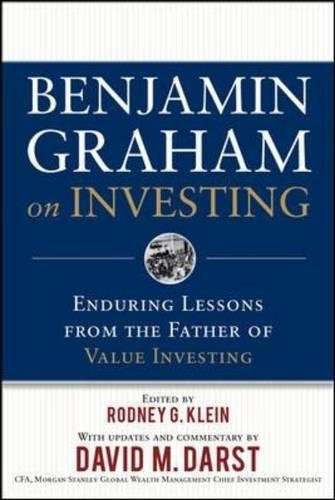 Benjamin Graham on Investing: Enduring Lessons from the Father of Value Investing by McGraw-Hill Education