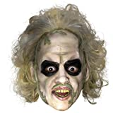 Rubies Costumes Men's Beetlejuice 3/4 Vinyl Mask with Hair