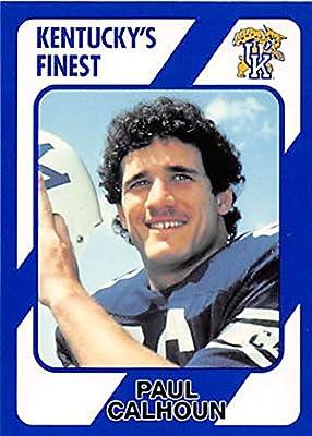 Paul Calhoun Football Card (Kentucky Wildcats) 1989 Collegiate Collection #98
