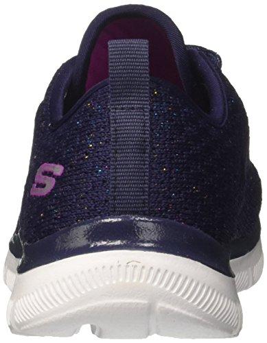 Skechers Mädchen Skech Appeal 2.0-Bold Move Sneaker Blau (Navy/multicolour)