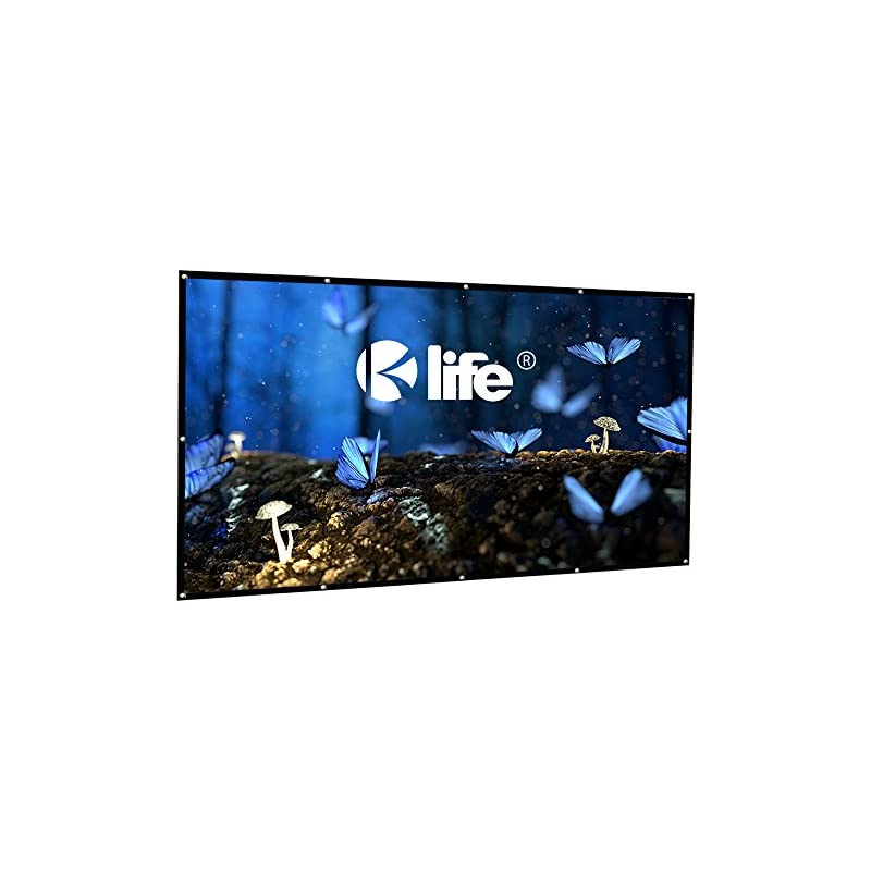 100 Inch Projector Screen with Free Hook