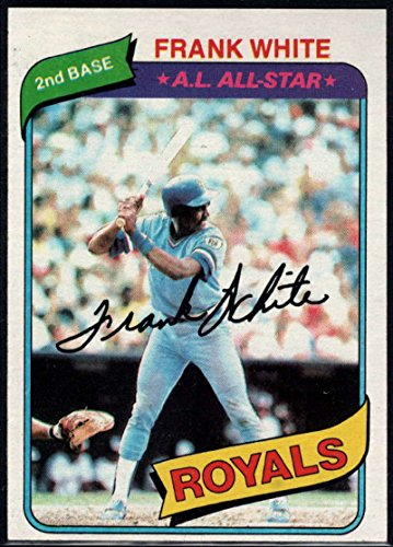 - Baseball MLB 1980 Topps #45 Frank White Royals