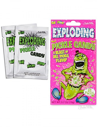 Exploding Pickle Candy Accoutrements Novelty