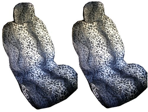 headrest covers leopard - 8