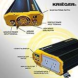 Krieger 2000 Watts Power Inverter 12V to
