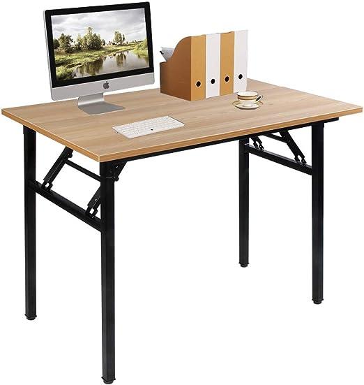 Need Mesa Plegable 100x60cm Mesa de Ordenador Escritorio de ...