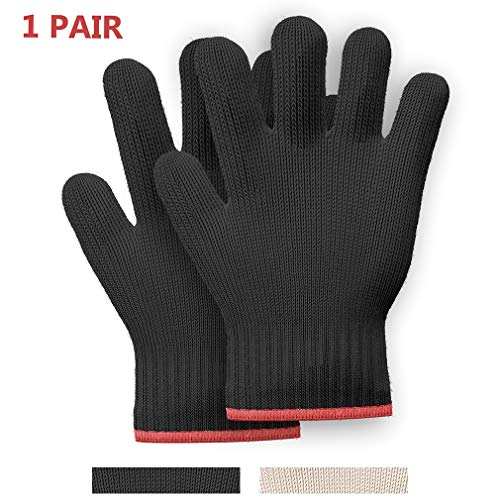 1 PAIR Heat Resistant Gloves Oven Gloves Heat Resistant With