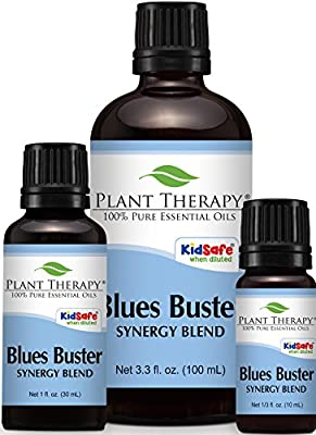 Plant Therapy Blues Buster Synergy Essential Oil 100% Pure, Undiluted, Therapeutic Grade