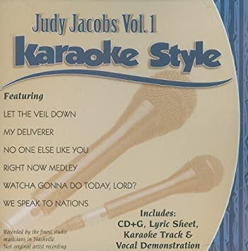Judy Jacobs Volume 1 Christian Karaoke Style New Cd+g Daywind 6 Songs Karaoke Cdgs, Dvds & Media