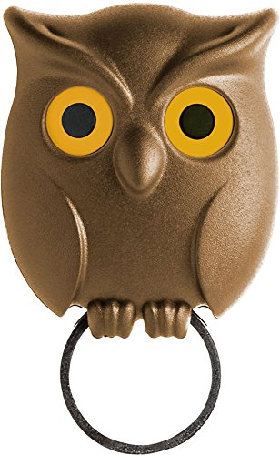 Qualy Night Owl Key Holder 50.5x31x60.5 mm. ()