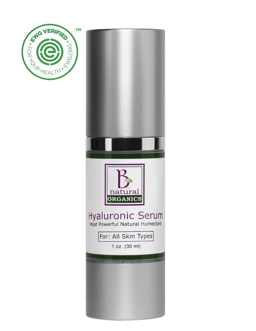 Be Natural Organics Hyaluronic Serum 1 Oz (30 ml)