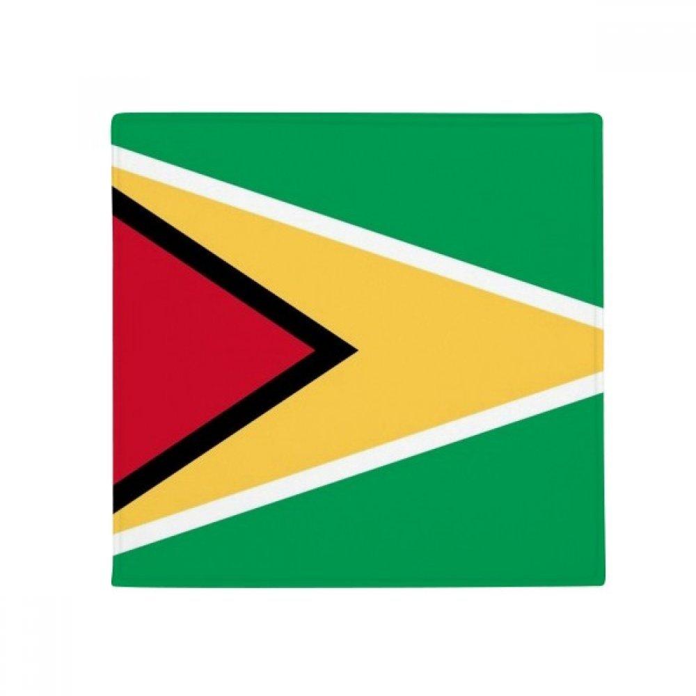60X60cm DIYthinker Guyana National Flag South America Country Anti-Slip Floor Pet Mat Square Bathroom Living Room Kitchen Door 60 50Cm Gift