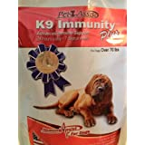 K9 Immunity Plus w/ Transfer Factor - Dogs Over 70 Lbs , 2 Pak /Immunité K9 plus w / Transfer Factor - chiens de plus de 70 Lbs, 2 Pak