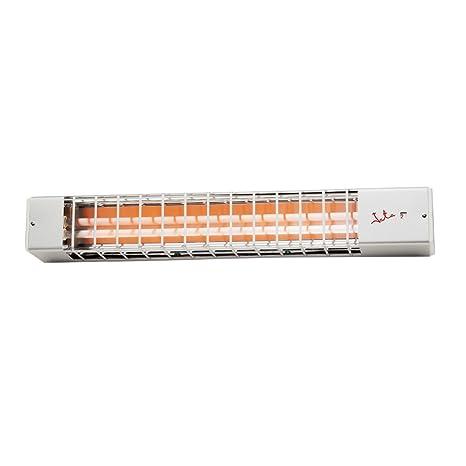 JATA 83 - Calefactor (Calentador halógeno, Pared, Blanco, 1200 W, 600