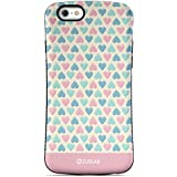 iPhone 8/iPhone 7 Case, ZUSLAB Pattern Design, Shockproof Armor Bumper, Heavy Duty Protective Cover For Apple iPhone 8/iPhone 7 (Lover Heart)