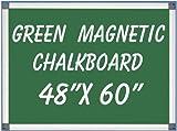 NEOPlex 48'' x 60'' Aluminum Framed Green MAGNETIC Chalkboard