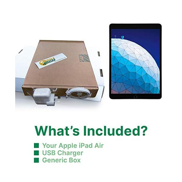 "Apple iPad Air | 10.5"" | 3rd GEN | WI-FI | 64GB | Grey | 2019 | (Renewed) 6"