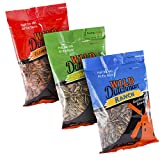 Wild Dutchman Sunflower Seeds/ Variety Pack - Unique Family Recipe Containing No GMOs Half the Salt Hearty Crunch Made in the USA (5.5 oz / Pack of 3)