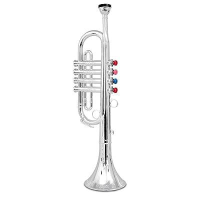 Bontempi Toy Trumpet Horn for Kids: Toys & Games