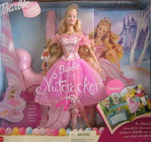 (Barbie NUTCRACKER SUGARPLUM PRINCESS Doll & Book Giftset (2001))