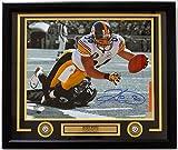 Hines Ward Pittsburgh Steelers Signed & Framed 16x20 Spotlight Dive Photo JSA