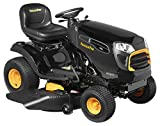 Poulan Pro PPX19A46 Gas Automatic Riding Mower, Black