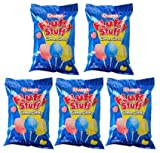 Fluffy Stuff Cotton Candy Bag: 24 Count - 2.5 oz (Pack of 5)