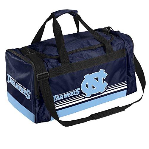 North Carolina Medium Striped Core Duffle Bag