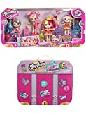 Shopkins Shoppies World Vacation BFF Traveling Shimmer Shoppies + Shopkins Lost Luggage Edition!