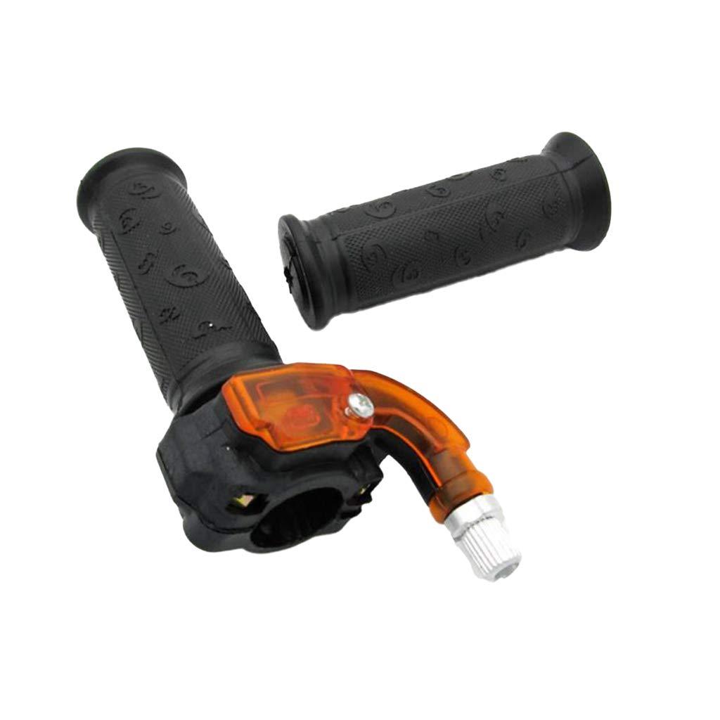 KESOTO 1 Paar Twist Gasgriff Griffhebelgriff Fit f/ür 43cc 47cc 49cc Mini ATV Quad Pocket Rocket Dirt Bike