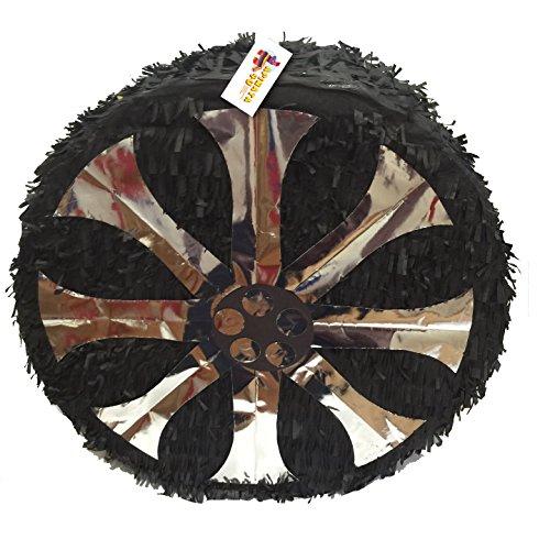 APINATA4U Large Black Tire Pinata 22