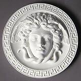 XoticBrands OSF7274-STN Medusa Plaque 8 (Standard) -Greek & Roman Busts