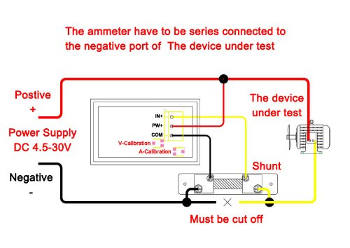 Vgdxfryal on Ammeter Shunt Wiring Diagram