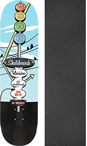 案件タイトルアリGood Skateboards Motel Skyスケートボードデッキ – 8