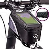 BTR Bicycle Bike Bag Pannier With Mobile Phone Pocket. 1st Generation. Large