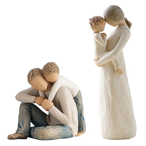 Willow Tree Tenderness (Willow Tree Figurines by Susan Lordi: That's My Dad Bundled with Tenderness)